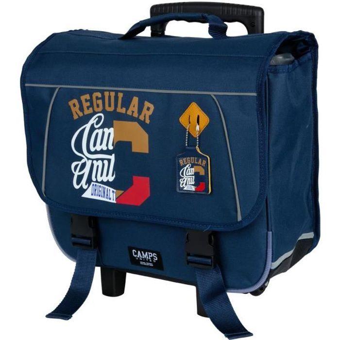 Cartable à roulettes Camps United 41 CM (Bleu)