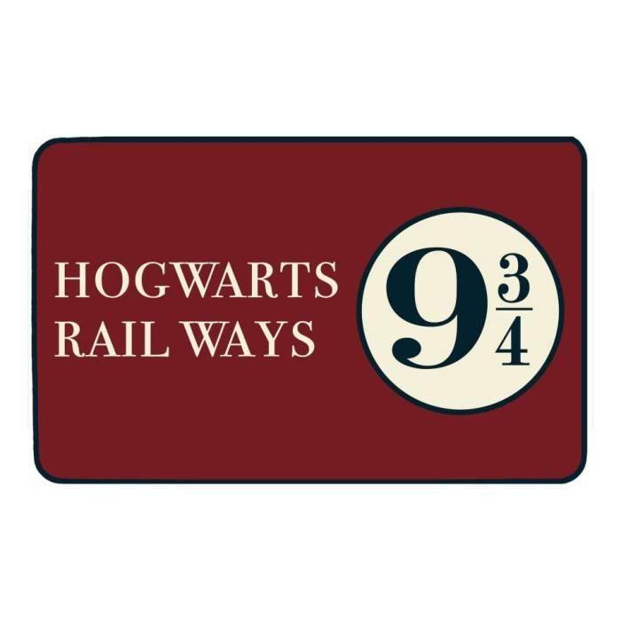 Tapis de sol Harry Potter - 9 3/4 Logo