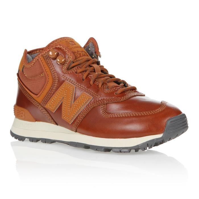 NEW BALANCE Baskets - Homme - Camel