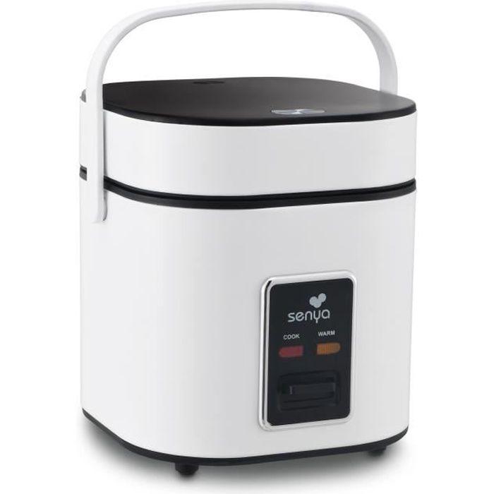 SENYA Cuiseur à riz - Cuiseur vapeur 2L - Blanc - Rice Perfect