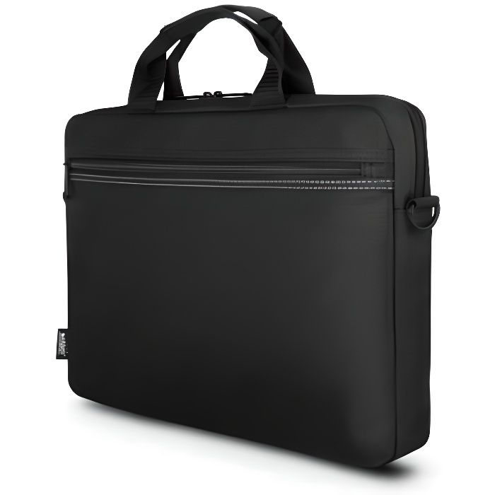 URBAN FACTORY TopLight Toploading Laptop Bag 12.5- Black - Sacoche pour ordinateur portable - 10- - 12- - Noir