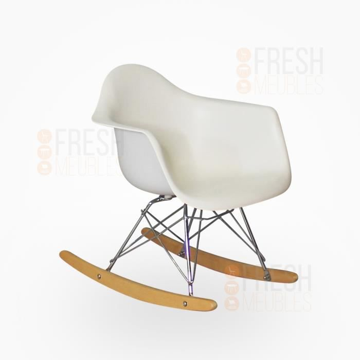 Fauteuil inspiration eames rar rocking chair pour enfant for Fauteuil eames rocking chair
