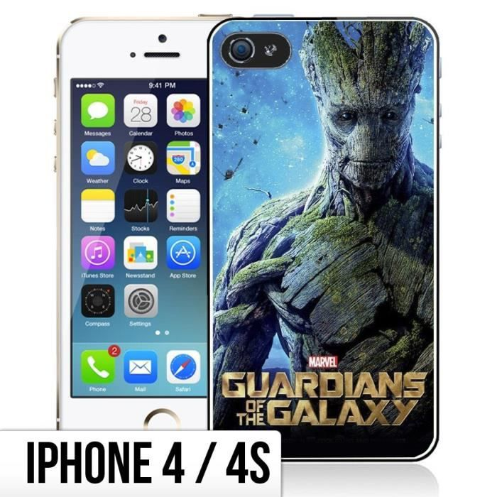 coque iphone 4 4s gardiens de la galaxie groot