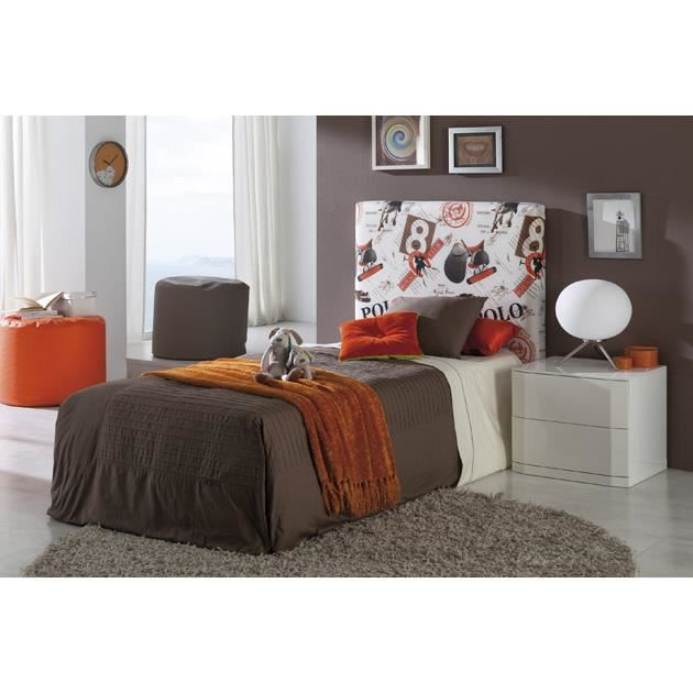 t te de lit capitonn e mod le polo achat vente t te. Black Bedroom Furniture Sets. Home Design Ideas