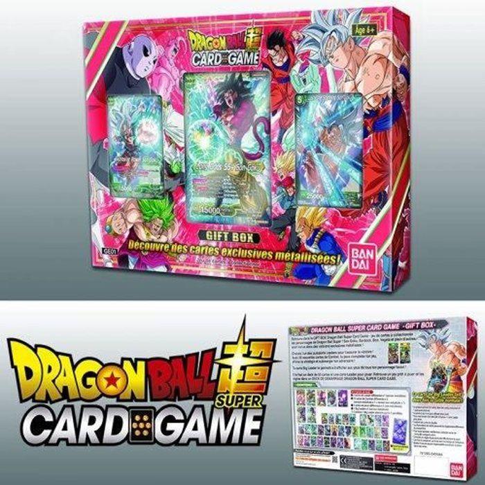 CARTE A COLLECTIONNER Dragon Ball Super Card Game : Coffret Cadeau de No