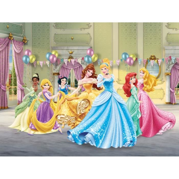 papier peint xxl anniversaire princesse disney achat. Black Bedroom Furniture Sets. Home Design Ideas