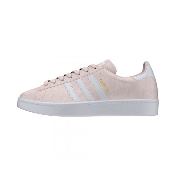 Basket ADIDAS CAMPUS W - Age - ADULTE, Couleur - ROSE, Genre - FEMME