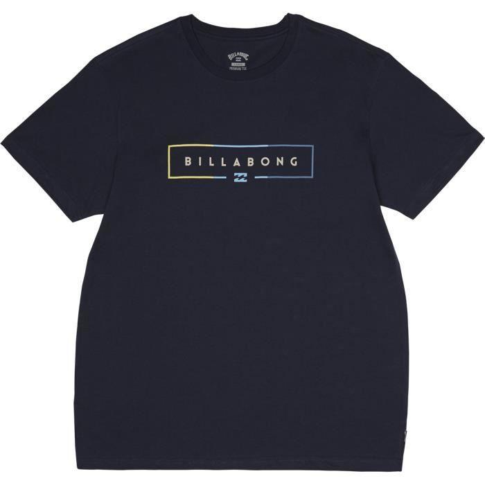 Billabong Unity T-shirt homme-Bleu Marine Toutes Les Tailles