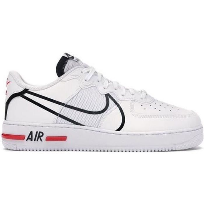 Nike Air Force 1 Shadow White Sapphire Barely Volt basket pour ...