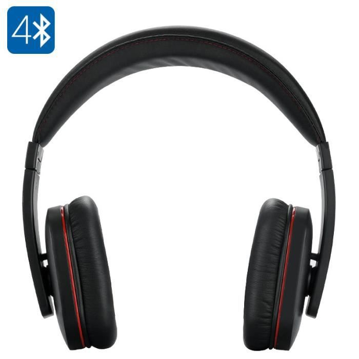 casque stereo bluetooth 4 0 geega micro integre etui de. Black Bedroom Furniture Sets. Home Design Ideas