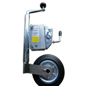 Roue jockey diam 35 + support timon 60x30 Trax