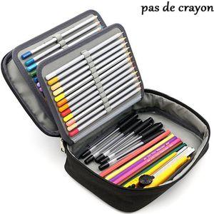 Mignon Trousse Naruto Gar/çon 2 Compartiments Trousse /à Crayons Fille Pochette /à Crayons Enfants /Étui /à Crayons Trousse Papeterie Pouch /école Stylo Organiseur Noir Trousse Scolaire Naruto