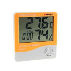 STATION MÉTÉO Chambre à l'intérieur LCD électronique température