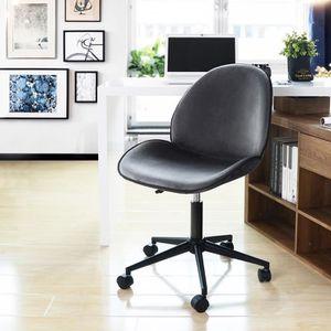 CHAISE DE BUREAU FurnitureR Chaise de Bureau pour enfant Roulant Pi