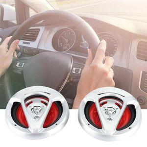 HAUT PARLEUR VOITURE 2pcs haut-parleur de voiture 500W haut-parleur coa