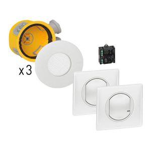INTERRUPTEUR Kit 3 spots modul_up commandes par 2 va-et-vient s