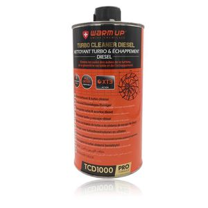 ADDITIF WARM UP TURBO CLEANER DIESEL Nettoyant Turbo