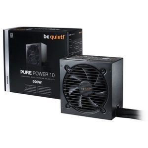 ALIMENTATION INTERNE Be Quiet Alimentation PC PURE POWER 10 - 500W - 80