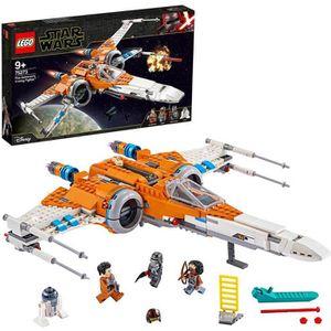 ASSEMBLAGE CONSTRUCTION LEGO® Star Wars™ 75273 Le chasseur X-wing de Poe D