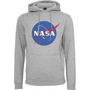 SWEATSHIRT Sweat à capuche NASA gros logo XS Gris