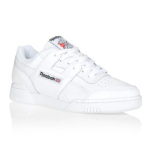 BASKET Basket Reebok WORKOUT PLUS Blanc/Noir