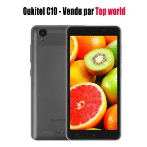"SMARTPHONE Oukitel C10 3G Smartphone 5.0"" Android 7.0 Télépho"