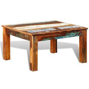 TABLE BASSE Table basse style contemporain Table de Salon carr