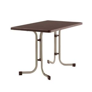 Table jardin rectangulaire pliante