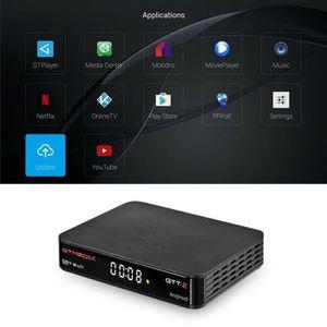 BOX MULTIMEDIA TV Box - GTMEDIA GTT DVB-t - T2 - Câble H.265 2G 8