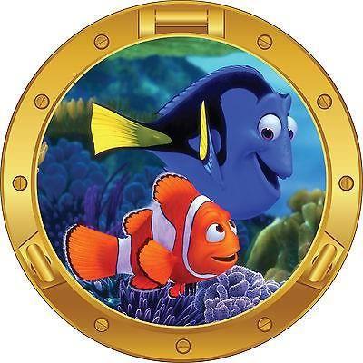 """Nemo Poisson Cartoon Voiture Autocollant Décalque 5/"""" X 5/"""""""
