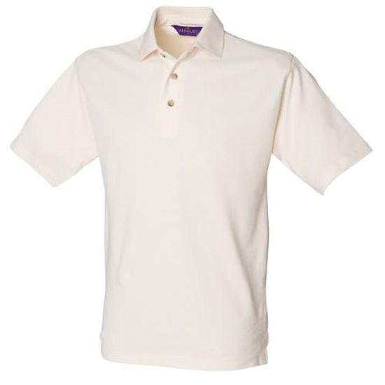 Henbury en Coton Noir Haut Polo Taille XL Regular
