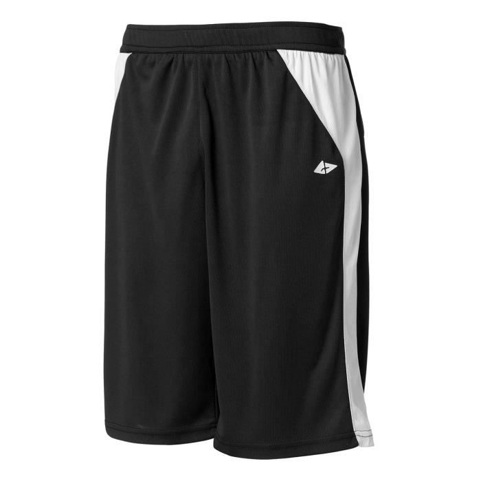 ATHLI-TECH Short de Basketball Bastian Berm - Homme - Noir