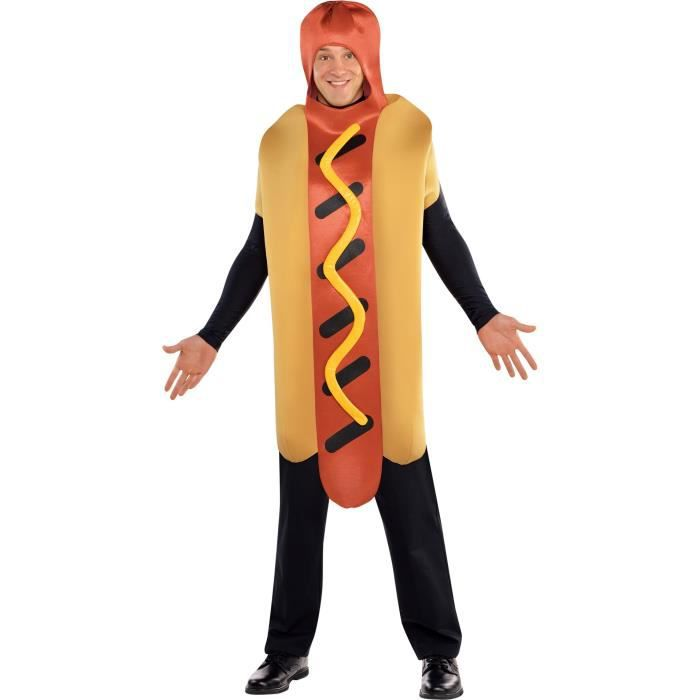 AMSCAN Costume Humour Hot Dog - Taille unique