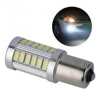 Ampoule BA15S LED P21W 33 SMD Blanc 6000K Veilleuses Lumière Feux arrière
