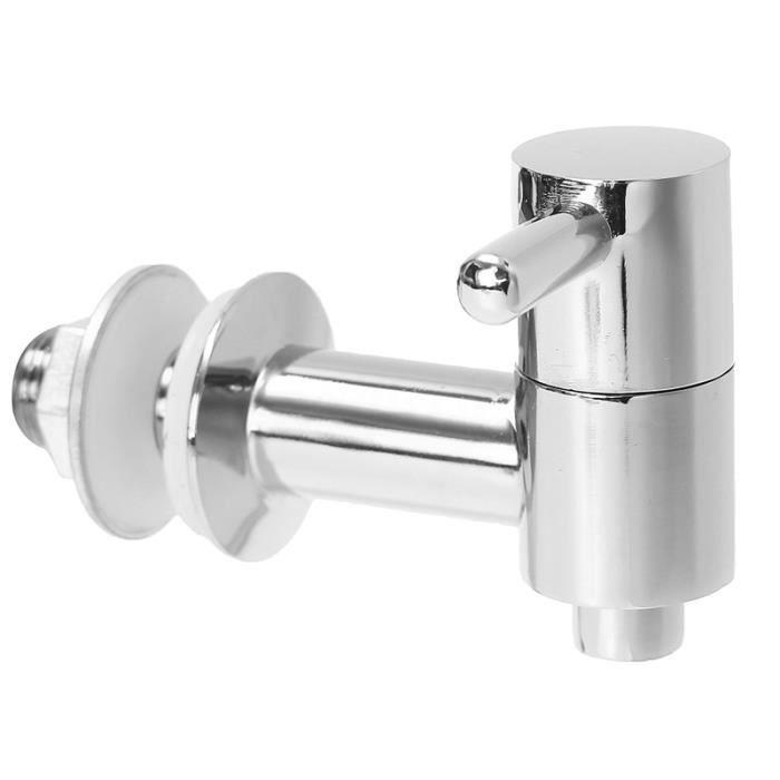 Robinet-robinet-robinet de baril de vin d'eau de distributeur de boisson chaude de TOD boisson, argent*BU0313