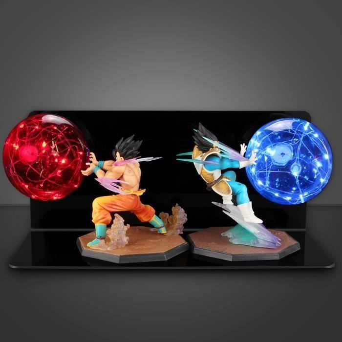 ANG Lampe de chevet - Dragon Ball Z Force bombs Figurine lampe de table LED veilleuse Chambre décoration éclairage Cadeau pour en