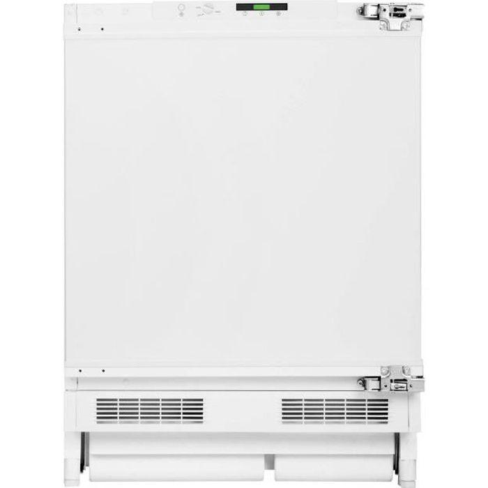 BEKO BU1203N - Congélateur encastrable 94L - Froid statique - L59,5xH81,8 cm - Blanc