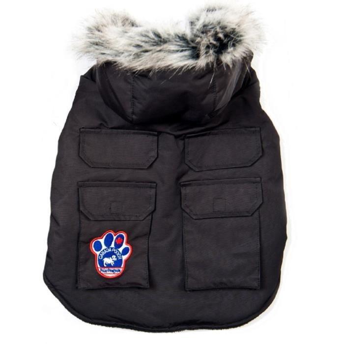 CANADA POOCH Veste Explorateur T16 - Noir - Pour chien 8-11kg