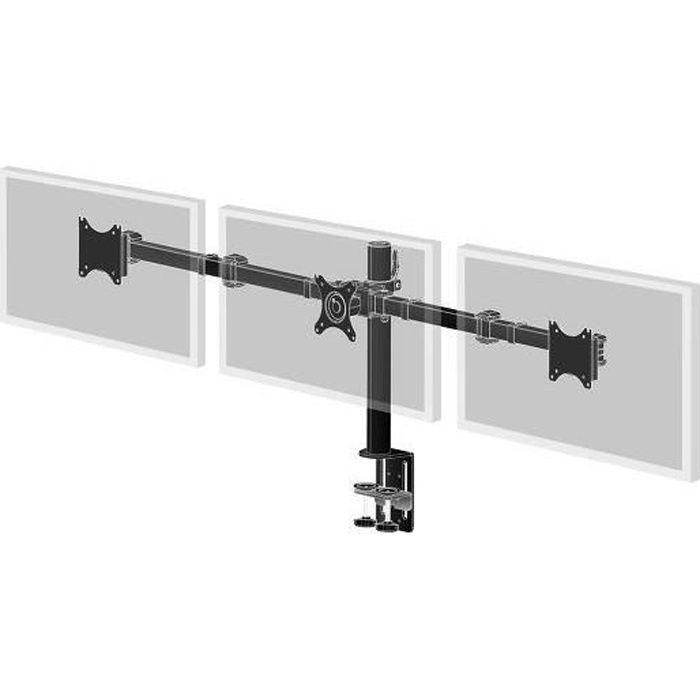 Iiyama Montage de bureau pour Moniteur 3 Display(S) Supported68,6 cm 30 kg Max