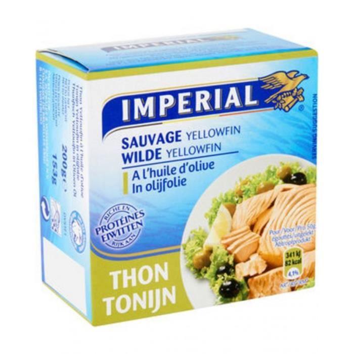 Imperial Thon à l'Huile d'Olive 200g (lot de 8)