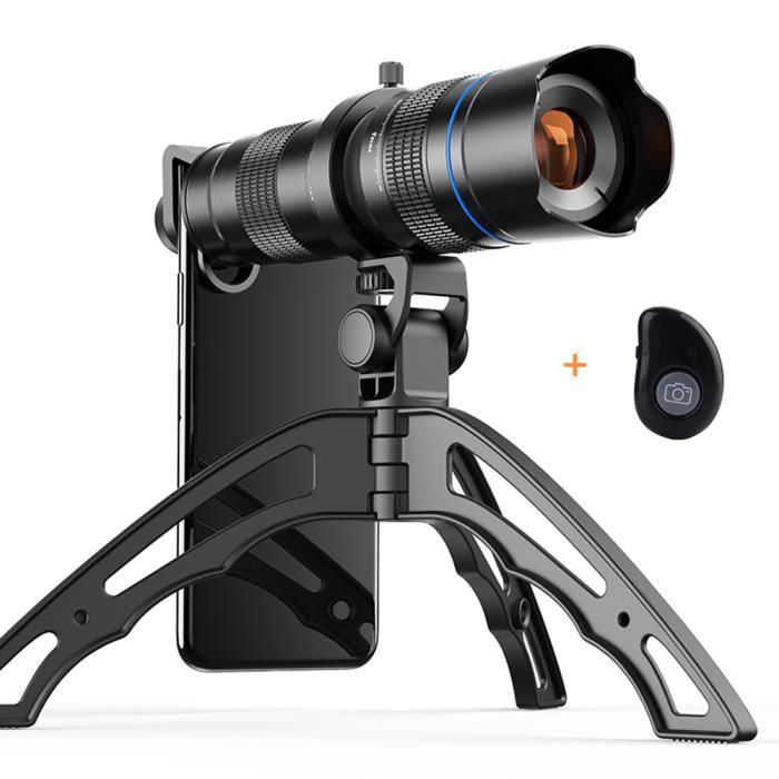20x-40x Zoom Télescope Monoculaire Objectif HD Etanche Portable + Trépied+clip photo