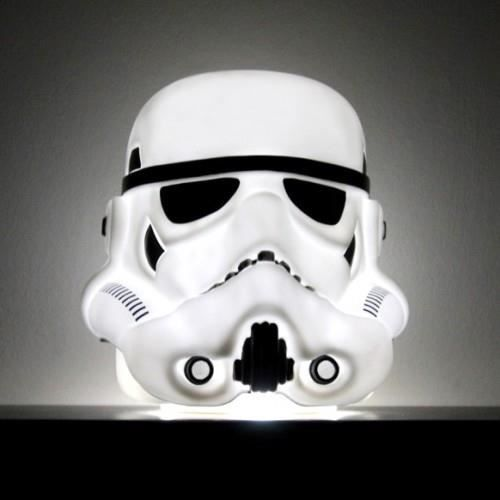 lampe d 39 ambiance stormtrooper star wars achat vente. Black Bedroom Furniture Sets. Home Design Ideas