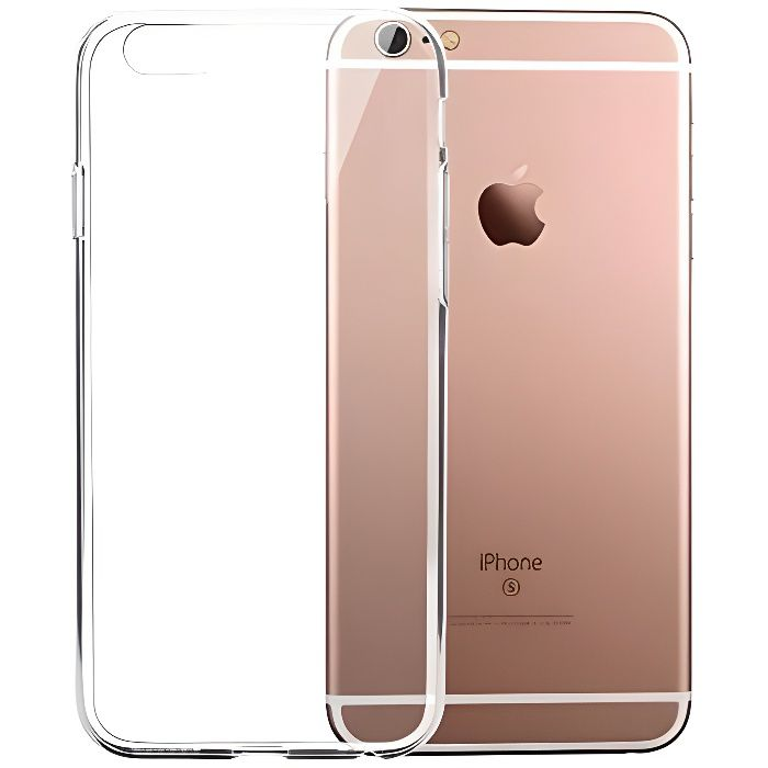 coque iphone 6 4 7 6s silicone gel transparen