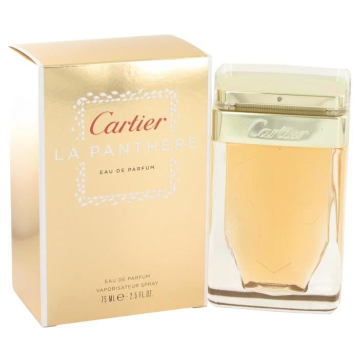 la panth re de cartier eau de parfum achat vente parfum la panth re de cartier eau cdiscount. Black Bedroom Furniture Sets. Home Design Ideas