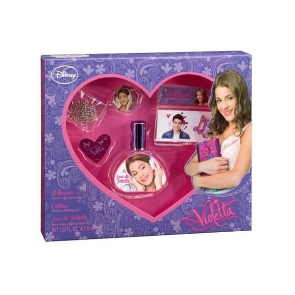 violetta disney coffret cadeau eau de toilette achat vente coffret cadeau parfum violetta. Black Bedroom Furniture Sets. Home Design Ideas