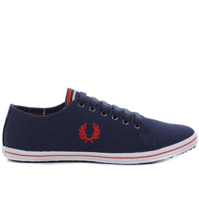 chaussure en toile fred perry po homme marine achat vente chaussure en toile fred per. Black Bedroom Furniture Sets. Home Design Ideas