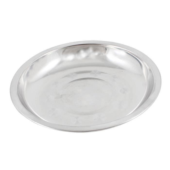 PLAT DE SERVICE Vaisselle plaque alimentaire de Camping du diametr
