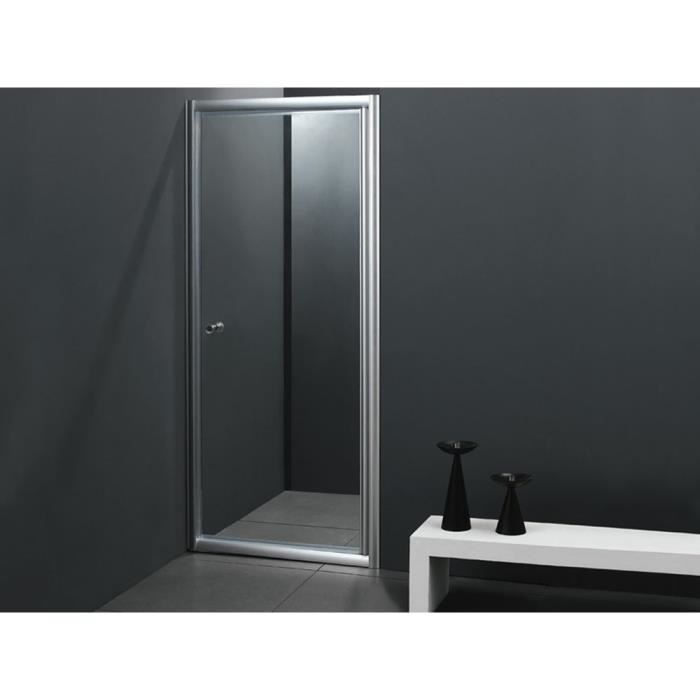 porte de douche battante rotterdam 80x180 cm achat. Black Bedroom Furniture Sets. Home Design Ideas