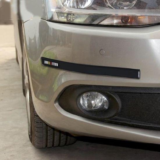 1 paire de pare-chocs de voiture Protection avant Protection anti-rayures chrom/é Garniture de couvercle pour Citroen C5 2008-2015