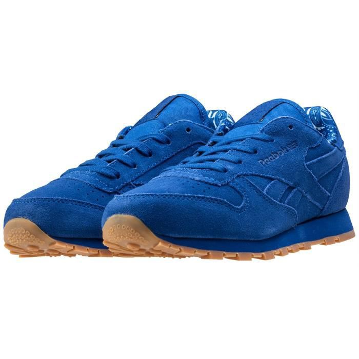 Reebok Cl Bandana Pack Garçon Baskets Bleu royal - 10 UK